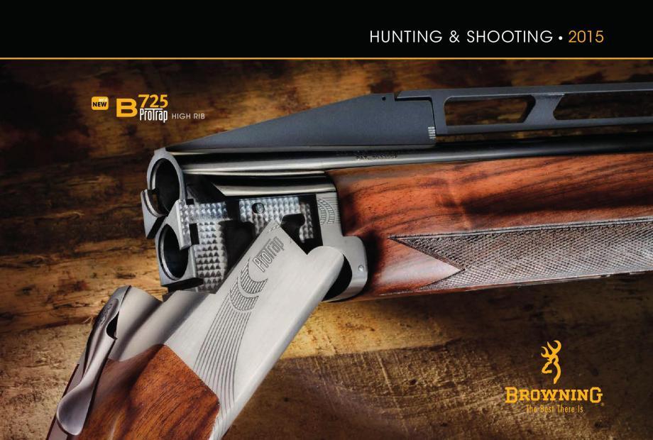 Browning Catalogue 2015