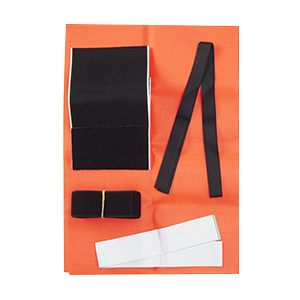 DOG VEST ACCESSORY, REPAIR KIT ORANGE
