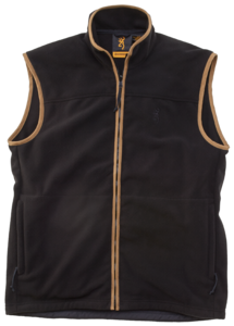 POLAR VEST, WINDSOR, BLACK OLIVE