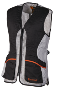 SHOOTING VEST, ULTRA LADY, BEIGE ANTHRACITE GREY