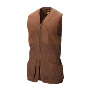 ELITE SHOOTING VEST DARK BROWN