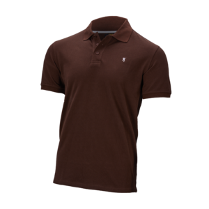 ULTRA 78 POLO SHIRT DARK BROWN